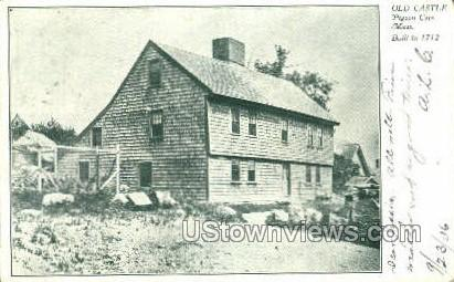 Old Castle - Pigeon Cove, Massachusetts MA Postcard