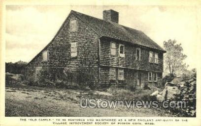 The Old Castle - Pigeon Cove, Massachusetts MA Postcard