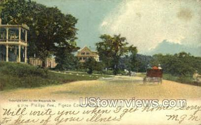 Phillips Ave. - Pigeon Cove, Massachusetts MA Postcard