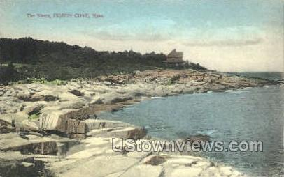The Shore - Pigeon Cove, Massachusetts MA Postcard