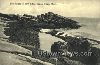 The Rocks - Pigeon Cove, Massachusetts MA Postcard
