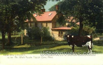 The Witch House - Pigeon Cove, Massachusetts MA Postcard