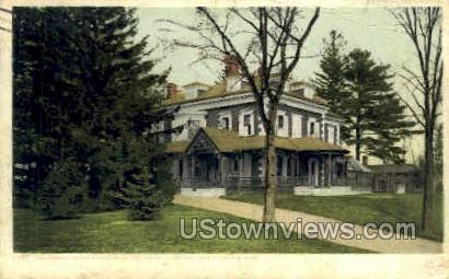 Oliver Wendell Holmes - Pittsfield, Massachusetts MA Postcard