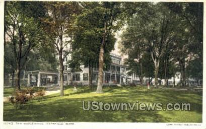 The Maplewood - Pittsfield, Massachusetts MA Postcard