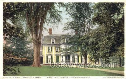 Elm Knoll - Pittsfield, Massachusetts MA Postcard