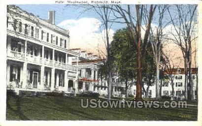 Hotel Maplewood - Pittsfield, Massachusetts MA Postcard