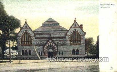 Atheneum - Pittsfield, Massachusetts MA Postcard