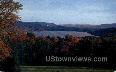 Stockbridge Bowl - Pittsfield, Massachusetts MA Postcard