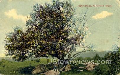 Split Rock - Pittsfield, Massachusetts MA Postcard