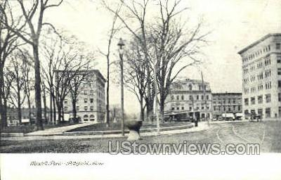 Wendell Park - Pittsfield, Massachusetts MA Postcard