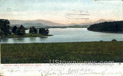 Onota Lake - Pittsfield, Massachusetts MA Postcard