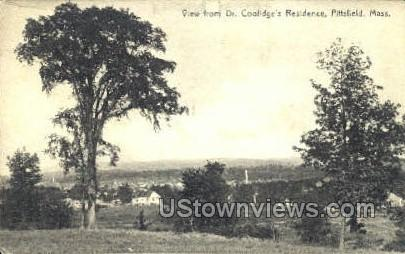 Dr. Coolidge's Residence - Pittsfield, Massachusetts MA Postcard