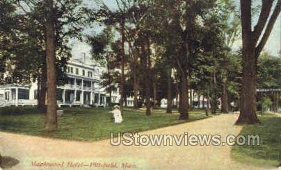 Maplewood Hotel - Pittsfield, Massachusetts MA Postcard