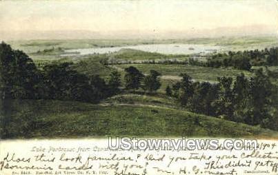 Lake Pontoosuc - Pittsfield, Massachusetts MA Postcard