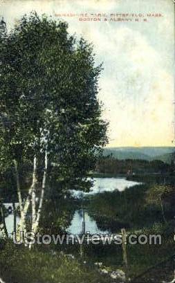 Berkshire Park - Pittsfield, Massachusetts MA Postcard