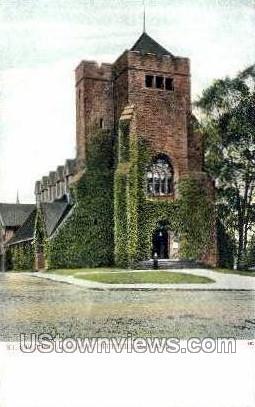 St. Stephen's Church - Pittsfield, Massachusetts MA Postcard