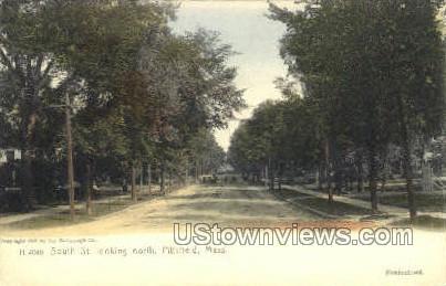 South St. - Pittsfield, Massachusetts MA Postcard