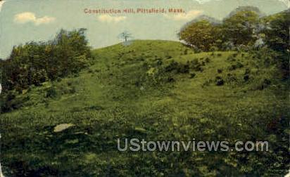 Constitution Hill - Pittsfield, Massachusetts MA Postcard