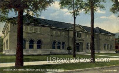 Museum of Natural History & Art - Pittsfield, Massachusetts MA Postcard