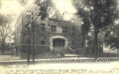 Bishop Memorial - Pittsfield, Massachusetts MA Postcard