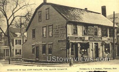 Homestead of Gen. John Winslow - Plymouth, Massachusetts MA Postcard