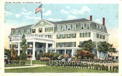 Hotel Pilgrim - Plymouth, Massachusetts MA Postcard