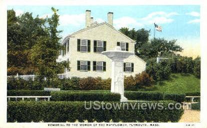 Women of the Mayflower - Plymouth, Massachusetts MA Postcard
