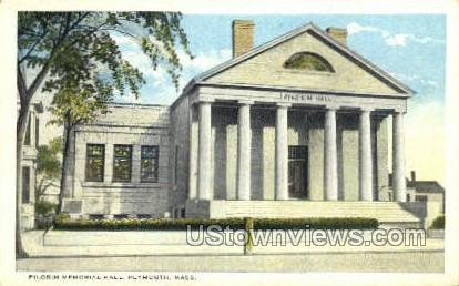 Pilgrim Memorial Hall - Plymouth, Massachusetts MA Postcard