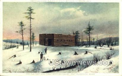 First Meeting House - Plymouth, Massachusetts MA Postcard