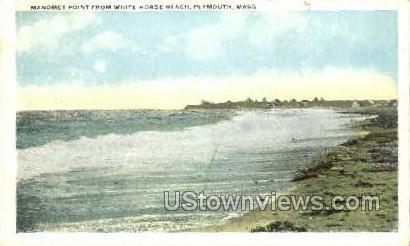 Manomet Point - Plymouth, Massachusetts MA Postcard
