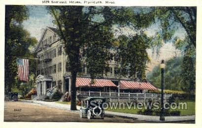 Samoset House - Plymouth, Massachusetts MA Postcard