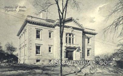 Registry of Deeds - Plymouth, Massachusetts MA Postcard