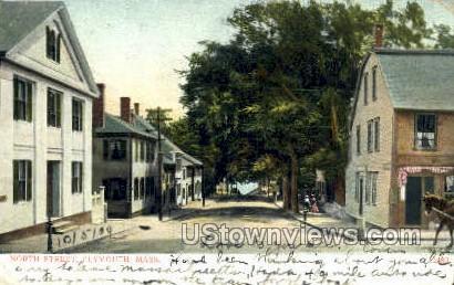 North St. - Plymouth, Massachusetts MA Postcard