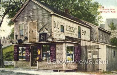 Old Curiosity Shop - Plymouth, Massachusetts MA Postcard