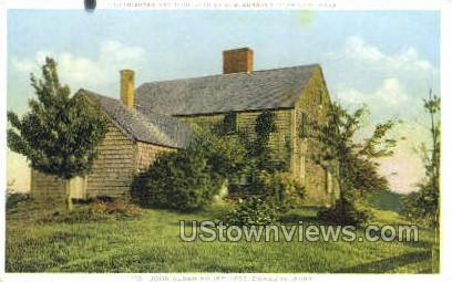 John Alden House - Plymouth, Massachusetts MA Postcard