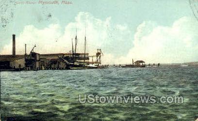 North Shore - Plymouth, Massachusetts MA Postcard
