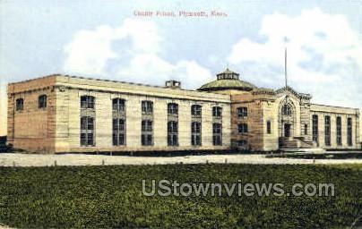 County Prison - Plymouth, Massachusetts MA Postcard