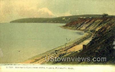 Warren's Cove - Plymouth, Massachusetts MA Postcard