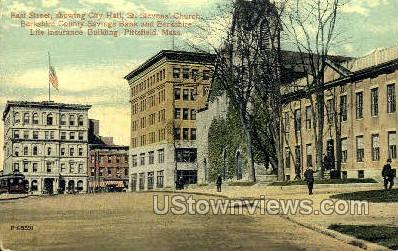 East St. - Plymouth, Massachusetts MA Postcard