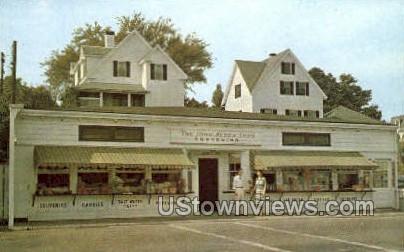 John Alden Souvenir Shoppe - Plymouth, Massachusetts MA Postcard