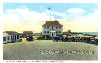 Race Point Coast Guard Station - Provincetown, Massachusetts MA Postcard