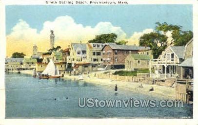 Smith Bathing Beach - Provincetown, Massachusetts MA Postcard