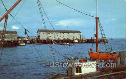 Wharf  - Provincetown, Massachusetts MA Postcard