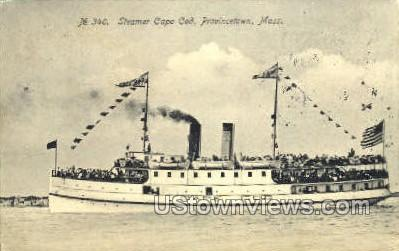 Steamer Cape Cod - Provincetown, Massachusetts MA Postcard