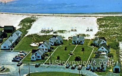 Pilgrim Colony Motel & Cottages - Provincetown, Massachusetts MA Postcard