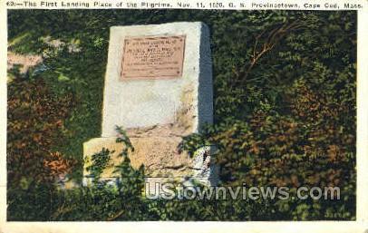 First Landing Place - Provincetown, Massachusetts MA Postcard