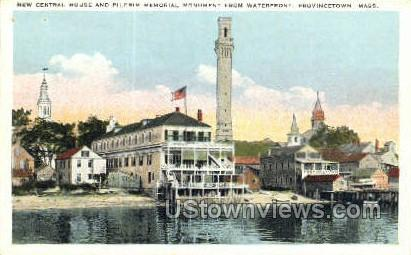 New Central House - Provincetown, Massachusetts MA Postcard