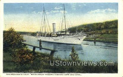 Presidents Yacht, - Provincetown, Massachusetts MA Postcard