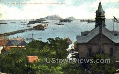 U.S. Fleet - Provincetown, Massachusetts MA Postcard