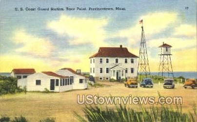 U.S. Coast Guard Station - Provincetown, Massachusetts MA Postcard